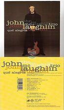 JOHN McLAUGHLIN TRIO que alegria CD ALBUM
