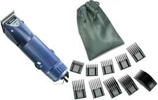 New USA Made Blue Oster Turbo A5 2-Speed Animal Pet Dog Clipper+10-pc Comb Guide