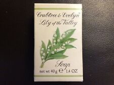 Crabtree & Evelyn Lily of the Valley 1.4oz luxury hand soap Made in Switzerland
