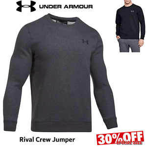 UNDER ARMOUR JUMPER MENS UNDER ARMOUR TOP RIVAL FLEECE CREW SWEATER NEW 2020