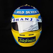 FERNANDO ALONSO 2006 SIGNED Autographed F1 Helmet Full Size 1/1 Scale Display