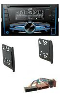 JVC MP3 USB CD 2DIN AUX Autoradio für Ford Cougar Fiesta Focus Galaxy Mondeo Pum