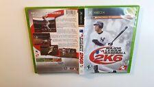 Major League Baseball 2K6 XBOX -Canadian Seller-