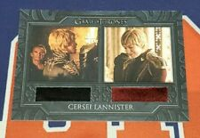2020 The Complete Game of Thrones DC4 Cersei's Dresses Dual Costume Card