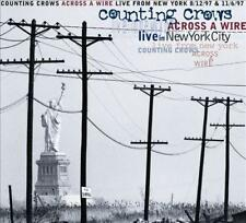 COUNTING CROWS - Across a Wire: Live in New York (2-CD) USA Digipak EXC