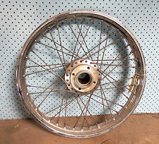 "TRIUMPH T140 TWIN DISC 19"" FRONT WHEEL. USED BUT IN EXCELLENT CONDITION."