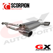 SNS012R Scorpion Exhausts For Nissan 370Z 2009-2018 HalfSystem Y-piece Back