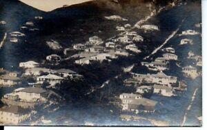 Old Postcard : Jamestown, St Helena looks more developed - 1930s? - SALE