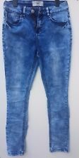 New Look 915 Generation Girl's Blue fade stretch skinny jeans Age 15/170 cm
