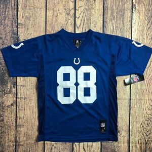 NFL Youth Size Large Indianapolis Colts Marvin Harrison Game Day Jersey New
