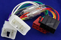 ISO WIRING HARNESS LOOM PLUGS TOYOTA HILUX COROLLA YARIS CAMRY +MORE CAR STEREO