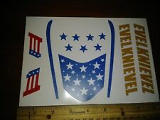 """""""Evel"""" K CANYON SKY CYCLE STICKERS"""