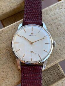 Vintage Zenith Cal 40-T Original Dial Wristwatch Perfect Watch