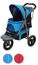 "New listing Gen7Pets Jogger Dog Stroller, Trailblazer Blue, 38""L x 23""W x 43""H"