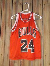 Vintage Chicago Bulls Tyrus Thomas Jersey - Motorolla Youth Size 18-20 Pro Sport