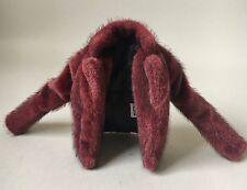 Integrità GIOCATTOLI FASHION royalty NU faccia 2.0 in Rouge Erin Faux Fur Coat 12,5 DOLL