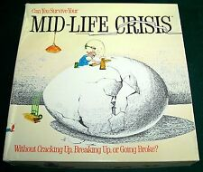 1982 Mid-Life Crisis Adult Party Game - Complete - VGC