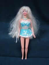 Barbie Doll Long  Hair 1976 on head 1966 on body Bendable knees