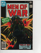 Men of War #4 (1/78) FN (6.0) Grave Digger! Great Bronze Age!