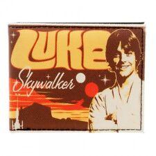 Star Wars Luke Skywalker Live at Anchorhead Bifold Wallet