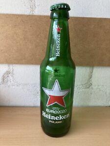 Leere Flasche Heineken Bier Fussball Europameisterschaft Euro 2020 * Polen