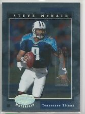 Steve Mcnair 2001 Leaf Certified Materials serial #'d 4/5 Chicago Sun Times Card