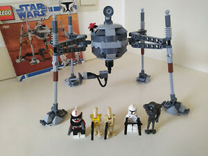 Lego Star Wars 7681 Separatist Spider Droid. Great Condition and 100% complete