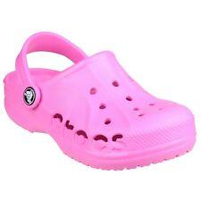 Crocs Baya Kids Zoccoli e Sabot Unisex – Bambini Rosa (neon Magenta) (e8s)
