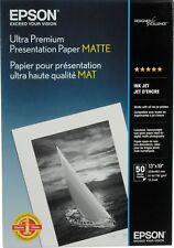 Epson Matte A3+ 13x19 Ultra Premium Presentation Photo Paper - 50 sheets