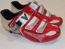Vittoria Brave Road Cycling Shoe Red-White EU 43 - 9.75 us