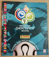 """Album Panini Fifa World Cup """"GERMANY 2006""""- Complet - Official"""