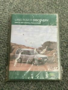 GENUINE LAND ROVER DISCOVERY TECHNICAL MANUAL CD LHP3