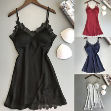 Sexy-Lingerie-Dress-Sleepwear-Babydoll-Lace-Nightwear-Women-Mini-Underwear-Set