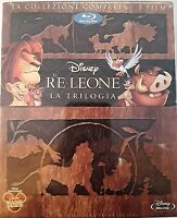 RE LEONE LA TRILOGIA - BLU RAY Walt Disney RIGID BOX RARISSIMO