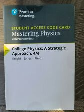 Mastering Physics - Access Card - for College Physics: A Strategic Approach 4th