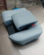 Mercedes W210 kombi Rücksitz kindersitz child seat 048A tex grau gray baby LEFT