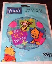 "NEW WINNIE THE POOH BIRTHDAY 18"" MYLAR BALLOON  PARTY SUPPLIES"