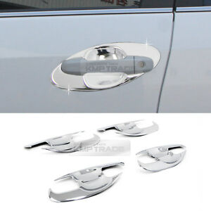 Chrome Silver Door Bowl Molding Garnish Trim Cover 8P for TOYOTA 2012-14 Camry