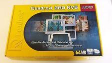 Leadtek Quadro4 280 NVS, (64 MB) AGP Video Card