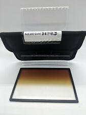 "Formatt Hitech 4x5.65"" Color Graduated Golden Sepia 3 Soft Edge Filter"