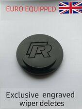 R engraved wiper delete blank dewiper Golf mk5 mk6 mk7, golfr r20 r32 rline vw.
