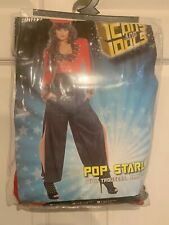 New Pop Starlet Famous Celebrity Cheryl Cole Costume Adult Size Medium 10-12 US