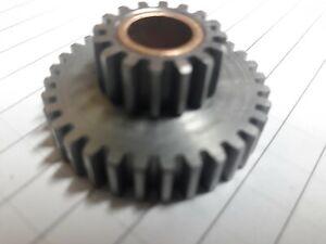 Logan QCGB, 16/32 gear Assy with bronze bushing
