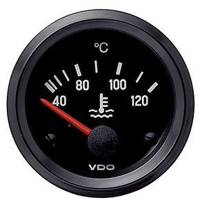 VDO 24V Electrical Temperature Gauge 40-120°C & Sender 310040002