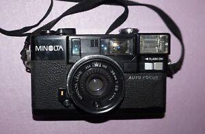Minolta Hi-Matic AF2 35mm Rangefinder Film Camera w/ 38mm F2.8 Lens