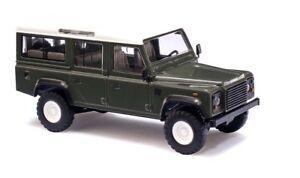 Busch 50301 HO (1/87): Land Rover Defender groen