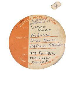 amateur 16 mm movie 1958 Daytona race, hudson drag races , soapbox derby NASCAR