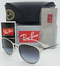 NEW Rayban Sunglasses Erika Metal RB3539 9078/8G 54 Silver Black Grey Gradient