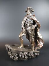 General Washington USA Delavare  24 cm bronzierte Figur,Veronese Kollektion