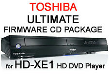Region free & V4.0 Firmware CD Pack pour Toshiba HD-XE1 HD DVD Player